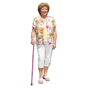 Breast Cancer Awareness Folding Cane