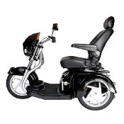 "Maverick Executive Three Wheel Power Scooter, 22"" Captains Seat"
