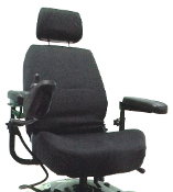 "Power Chair or Scooter Captain Seat Cover for 20"" Wide Seats"