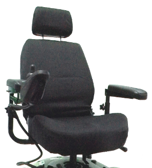 "Power Chair or Scooter Captain Seat Cover for 22"" Wide Seats"