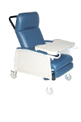 3 Position Heavy Duty Bariatric Geri Chair Recliner