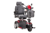 "Ventura Power Mobility Scooter, 3 Wheel with 18"" Captain Seat"