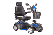 "Ventura Power Mobility Scooter, 4 Wheel with 18"" Captains Seat"