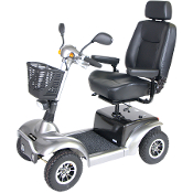 "Prowler HD Mobility Scooter, 4 Wheel with 22"" Captains Seat"