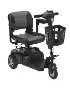 Phoenix Heavy Duty Travel Power Scooter, 3 Wheel