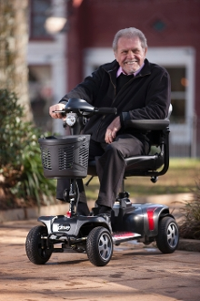 Phoenix Heavy Duty Travel Power Scooter, 4 Wheel