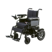 "Cirrus Plus EC Folding Power Wheelchair with 16"" Wide Seat"