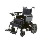 "Cirrus Plus EC Folding Power Wheelchair with 22"" X-Wide Seat"