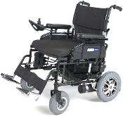 "Wildcat 450 Heavy Duty Folding Power Wheelchair with 24"" Seat"
