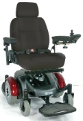 "Image EC Mid Wheel Drive Power Wheelchair with 18"" Wide Seat"