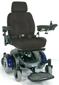"Image EC Mid Wheel Drive Power Wheelchair with 20"" Wide Seat"