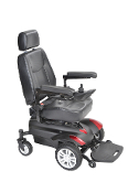 "Titan Transportable Front Wheel Power Wheelchair 18"" Capt'n Seat"